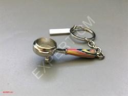 Брелок для ключей холдер цветной - фото 12746
