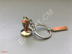 Брелок для ключей темпер цветной - фото 12750