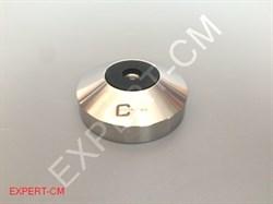 Основание темпера (нерж.сталь.) М8 58мм h20мм - фото 6679