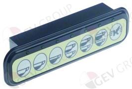 Блок кнопочной панели (7 кнопок) ELEKTRA