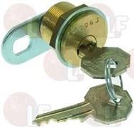 Замок с ключем типа - К