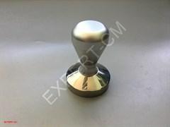 Темпер сталь с регулируемой по высоте ручкой (серебро) 57,5мм