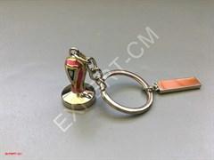 Брелок для ключей темпер цветной
