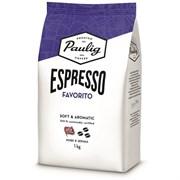 Кофе в зернах Paulig Espresso Favorito (Паулиг Эспрессо Фаворито