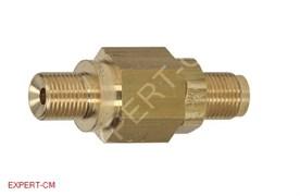 """Клапан сброса избыточного давления (латунь) 1/8""""-1/8"""" L24мм"""