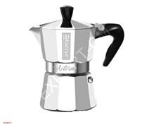 Гейзерная кофеварка Bialetti Aeternum Allegra SILVER на 3 порции