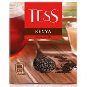 Чай черный Tess Kenya, 100 пакетиков в упаковке