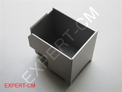 Контейнер для кофейных отходов Colet Q001-Q004 (серебро)