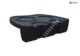 Резиновая подставка (коврик) под 2 темпера и 2 холдера