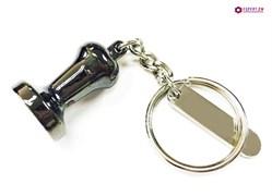 Брелок для ключей темпер темный
