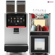 Аренда кофемашин Dr. Coffee F2+стойка-холодильник с нагревом чашек