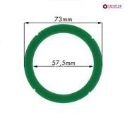 Кольцо уплотнительное группы из термостойкого зеленого силикона RANCILIO/PROMAC d73х57.5x8мм