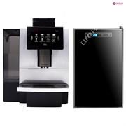 Набор кофемашина Dr. Coffee F11 Big с холодильным оборудованием для молока