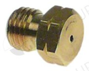 Форсунка группы Ø0,8мм, М6х0,75 L9мм (латунь)