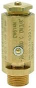 """Клапан бойлера 3/8""""М - 2,0 бар CE/PED"""