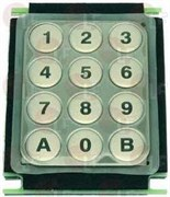 12-ти кнопочная панель 105x80мм