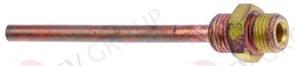 "Инжектор теплообменника (медь) Ø6 мм, L80 мм 1/4"" внеш.-1/4"" вне"