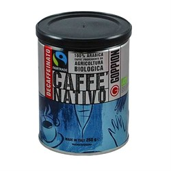 Кофе молотый Гоппион Nativo Decaffeinato, 250 гр - фото 12374