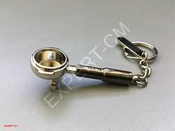 Брелок для ключей холдер темный - фото 12745