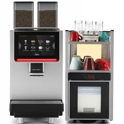 Суперавтоматическая кофемашина Dr. Coffee F2 + холодильное оборудование - фото 13599