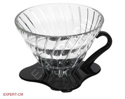 Воронка стекло Hario VDG-02B на 1-4 чашки - фото 13839