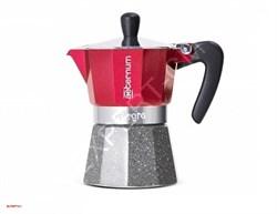 Гейзерная кофеварка Bialetti Aeternum Allegra Petra Rouge R на 6 порций - фото 13882