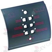 Декор кнопочной панели подачи кофе (7 кнопок) L110мм H100мм SM с
