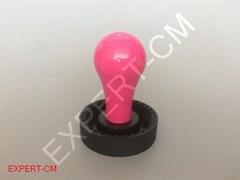 Ручка темпера алюминиевая розовая М8 CONCEPT-ART