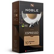 Кофе в капсулах Noble Espresso (Эспрессо), упаковка 10 капсул по 5,3 гр