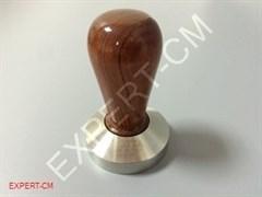 Темпер MOTTA (сталь) с дер. ручкой (коричневый лакированный) Ø53 мм
