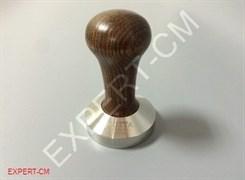 Темпер MOTTA (сталь) с дер. ручкой (коричневый) d49мм
