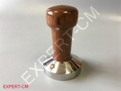 Темпер сталь коричневый (дерево) Ø51мм EXPERT-CM