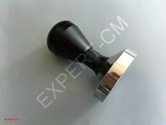 Темпер сталь с регулируемой по высоте ручкой (черный) 57,5мм