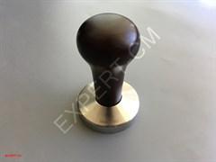 Темпер ESSENTIAL (сталь) с дер. ручкой (темно-коричневый) Ø58мм