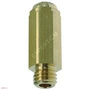 Жиклер группы RANCILIO М8х1 L28мм отв. 0,5мм (латунь)