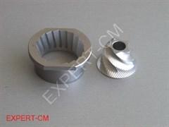 Жернова металлические Bosch/Jura (запчасть для кофемашины)