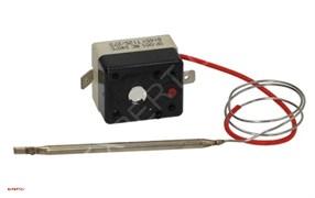 Термостат предохранительный 240⁰С 1х полюс 16А, сенсор Ø4мм L184мм