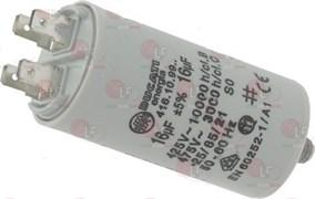 Конденсатор пусковой эл.двигателя 450В 16мкФ