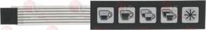 Мембрана сенсорной панели (5кнопок) AURORA 8.9.46.46