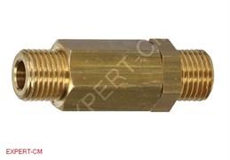 """Обратный клапан NUOVA SIMONELLI/ELEKTRA 1/4""""х1/4"""" L50мм"""