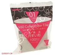 Бумажные фильтры Hario VCF-01-100W 100 шт