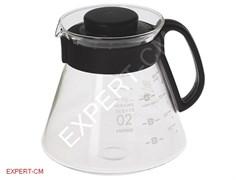 Кофейник (чайник) стекло HARIO XVD-60B 600 мл.***