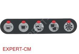 Стикер кнопочной панели 5 кнопок SAN MARCO 85E - 85S