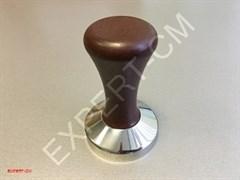 Темпер сталь с коричневой бакелитовой ручкой 58мм