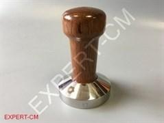 Темпер сталь коричневый (дерево) Ø49мм EXPERT-CM