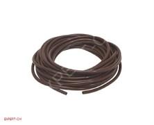 Шланг силиконовый d 5x9мм коричневый -1м.