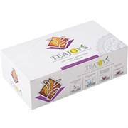 Чай черный TEAJOYS Цейлонский с чабрецом, пакетики с ярлычками, 100 саше по 2 г.