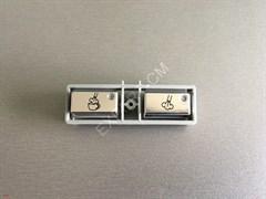 Кнопки подачи пара и каппучино кофемашины Jura impressa S90 schwarz