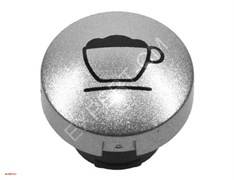 Кнопка капучино в серебре матовая для Jura Impressa X7