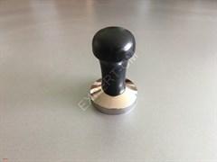 Темпер сталь с деревянной черной ручкой 58,5мм